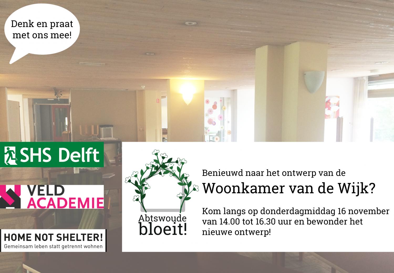 Kijkmiddag ontwerp Woonkamer van de Wijk - Abtswoude bloeit!